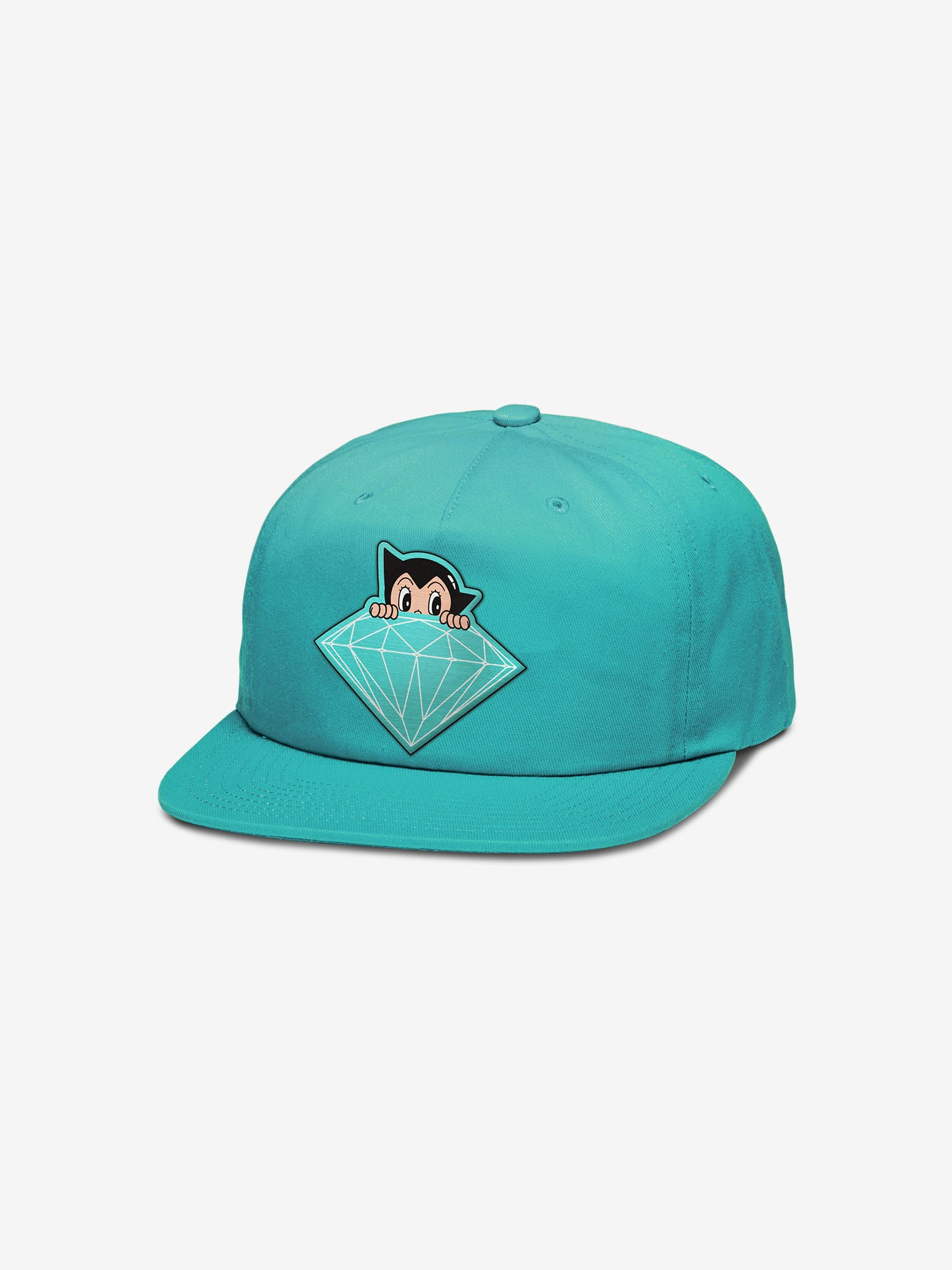 ae1e09bc7e76d0 Diamond x Astroboy Brilliant Snapback - Diamond Blue - Diamond Supply Co.