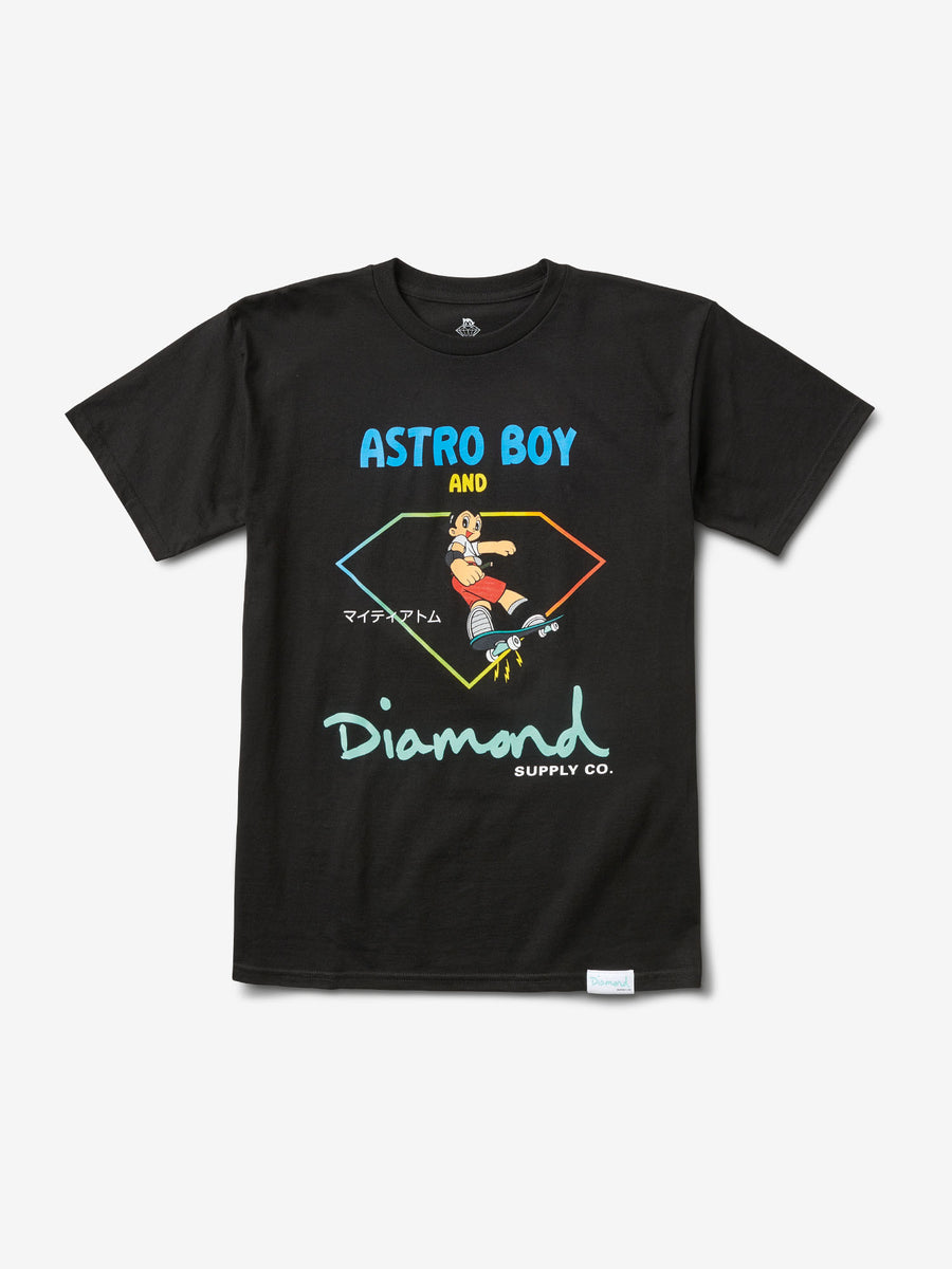 Diamond and Astroboy Tee - Black