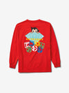 Diamond x Astroboy Brilliant Longsleeve - Red