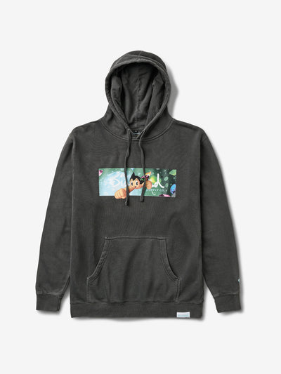 Diamond x Astroboy Box Logo Hoodie - Black
