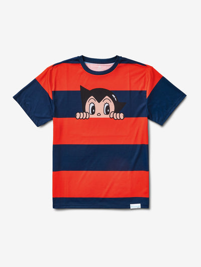 Diamond x Astroboy Striped Tee - Navy/Red