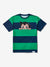 Diamond x Astroboy Striped Tee - Navy/Green