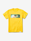 Diamond x Astroboy Box Logo Tee - Yellow