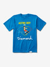 Diamond and Astroboy Tee - Turqouise