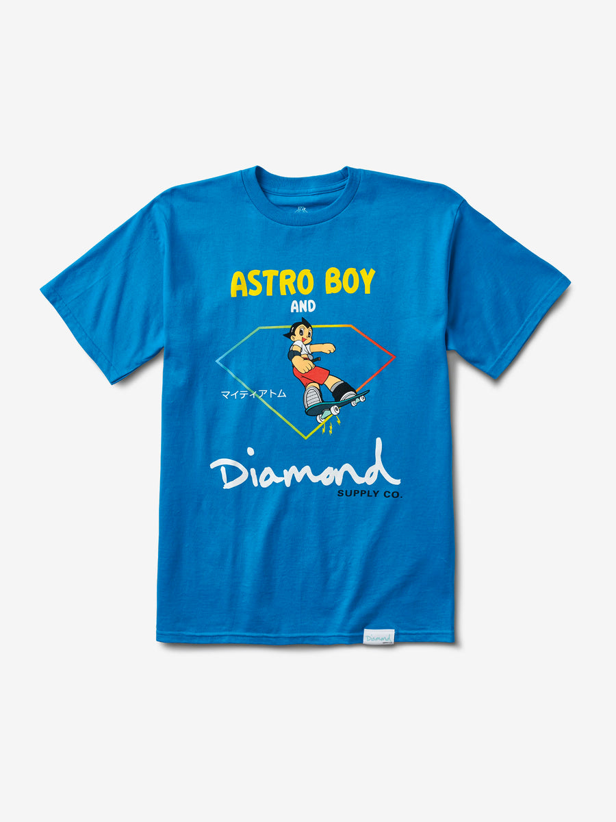 17afcf6d62d Diamond and Astroboy Tee - Turqouise