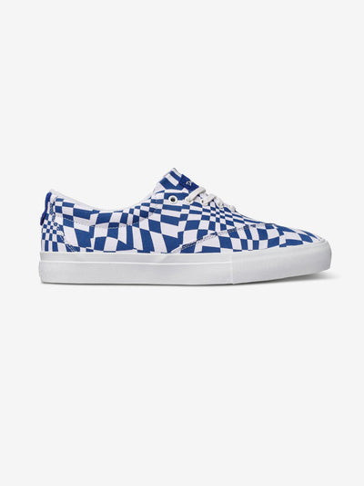 Navy Checkered Avenue