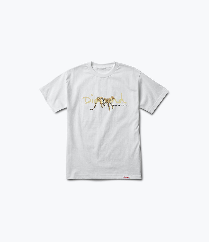 Leopard OG Script Tee, Summer 2017 Delivery 2 Tees -  Diamond Supply Co.