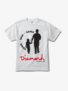 Diamond x Good Dad Gang Tee - White