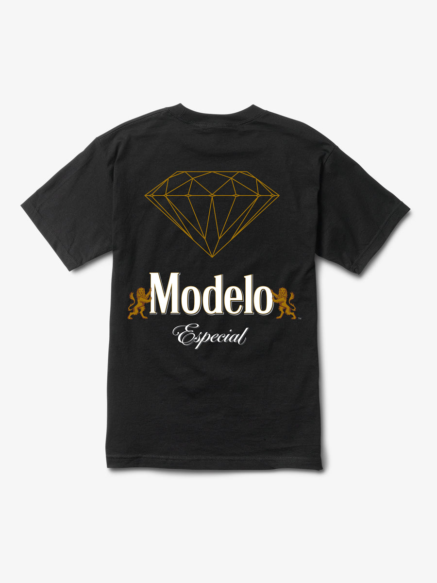 Modelo Diamond Tee - Black