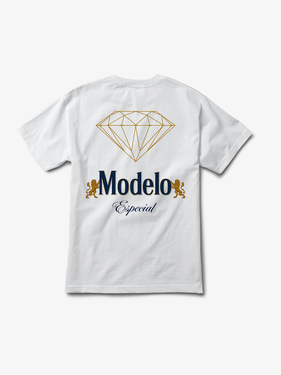 Modelo Diamond Tee - White