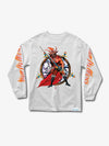 The Hundreds - Diamond x Slayer No Mercy Longsleeve - White