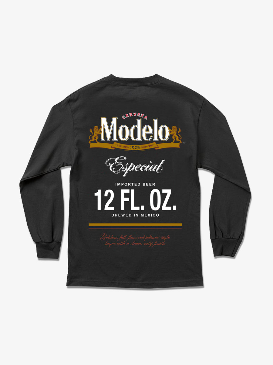 12 FL. OZ. Long Sleeve Tee - Black