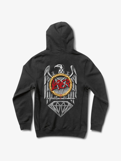 The Hundreds - Diamond x Slayer Brilliant Abyss Hoodie - Black