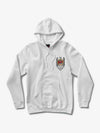 The Hundreds - Diamond x Slayer Brilliant Abyss Hoodie - White