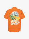 Diamond x Taylor Gang Short Sleeve Woven Shirt - Orange