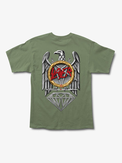 Diamond x Slayer Brilliant Abyss Tee - Sage