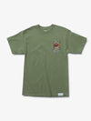 The Hundreds - Diamond x Slayer Brilliant Abyss Tee - Sage