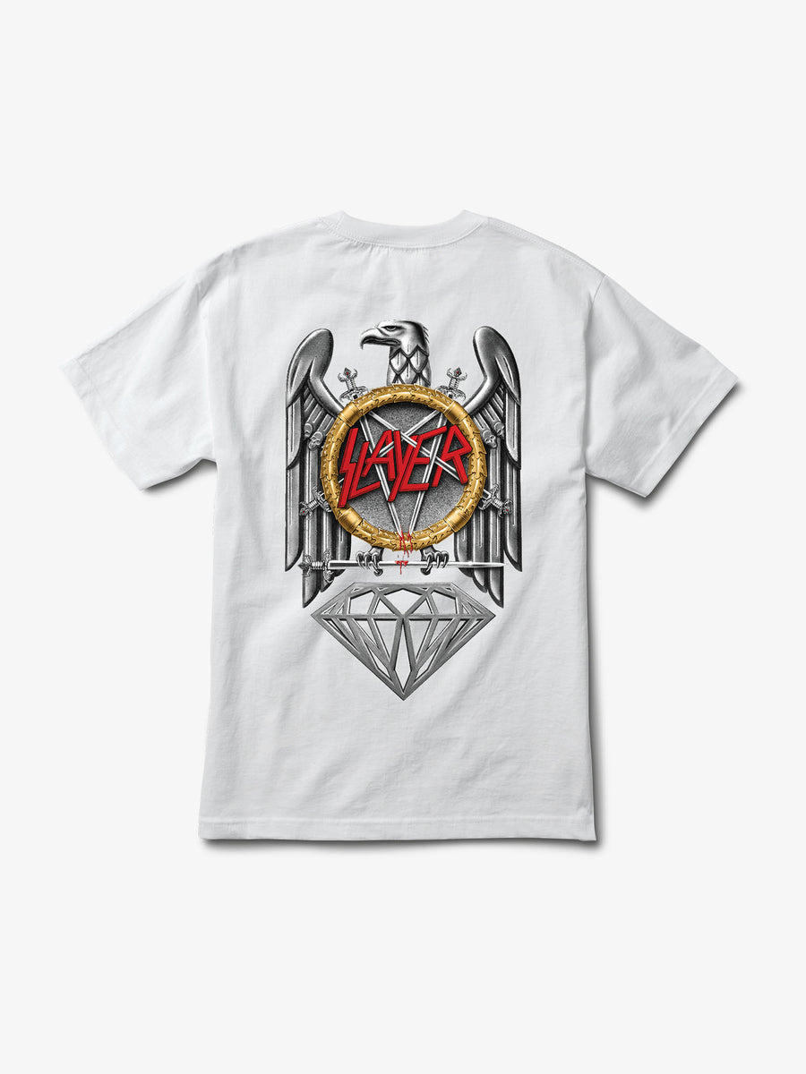 Diamond x Slayer Brilliant Abyss Tee - White