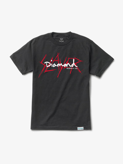 The Hundreds - Diamond x Slayer Tee - Black