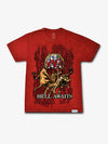 The Hundreds - Diamond x Slayer Hell Awaits Tee - Red