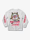 The Hundreds - Diamond x Slayer Reign In Blood Longsleeve- White