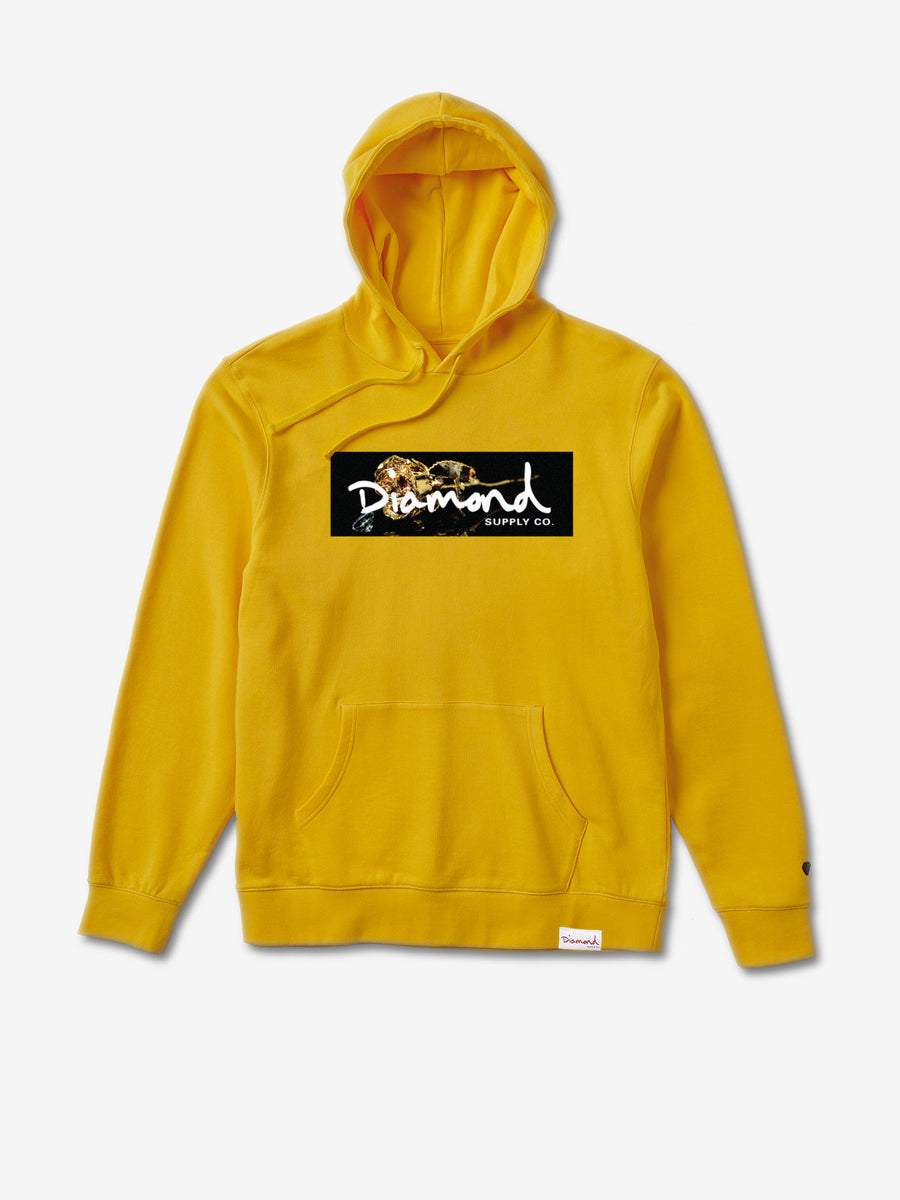Rose Gold Pullover Hoodie - Gold
