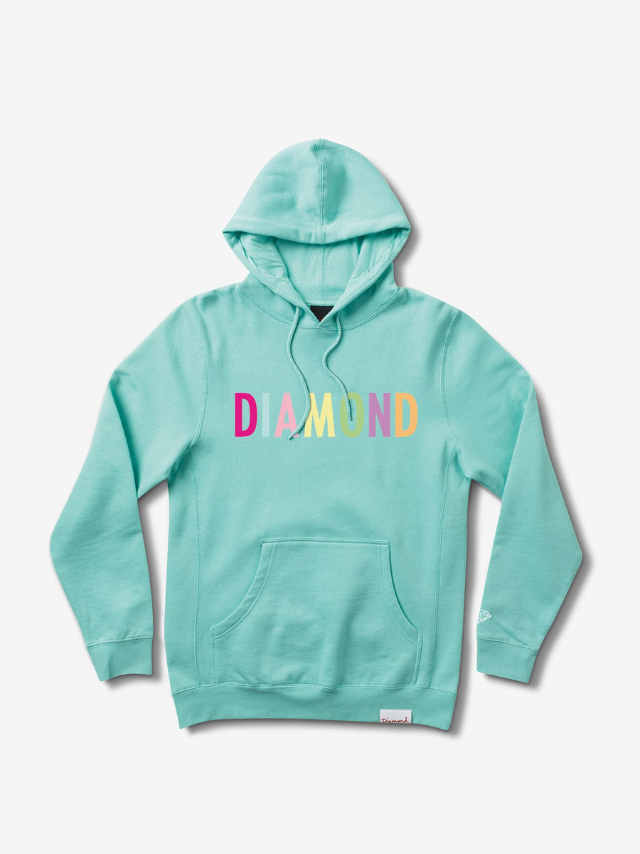 Colour Pop Hoodie - Diamond Blue