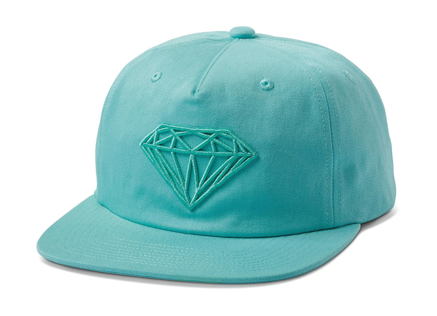 Brilliant Unstructured Snapback - Diamond Blue