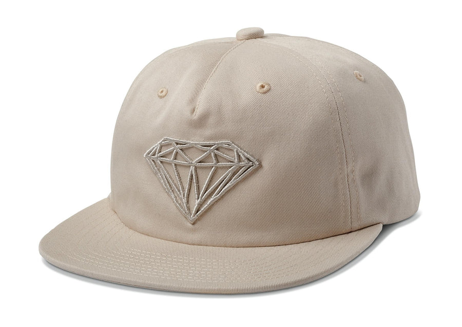 Brilliant Unstructured Snapback - Khaki