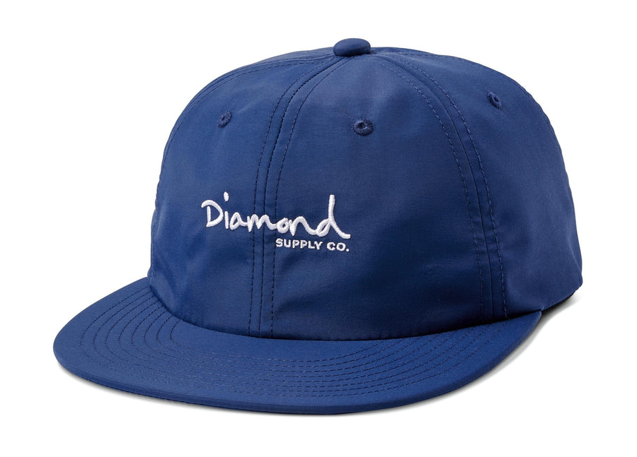Mini OG Script Hat - Navy
