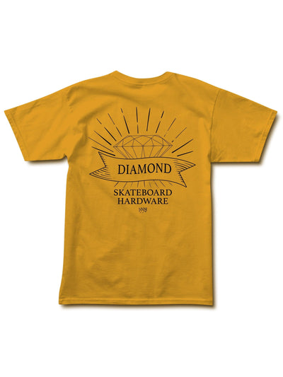 Diamondware Tee - Gold