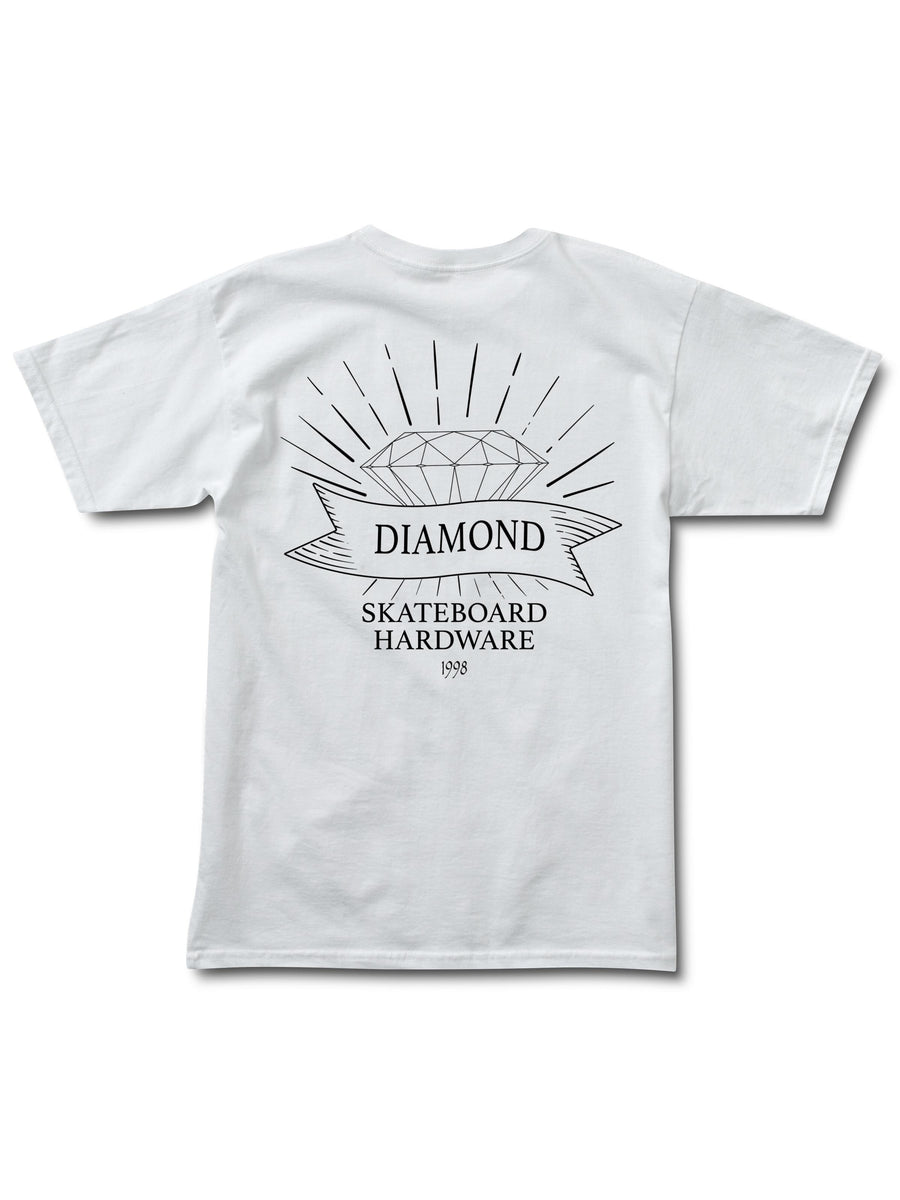 Diamondware Tee - White