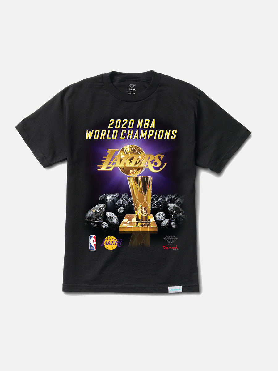 2020 World Champion Los Angeles Lakers Tee - Black