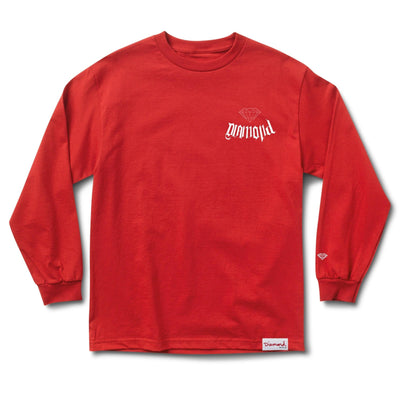 City Devil Long Sleeve Tee - Red