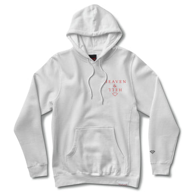 Heaven And Hell Hoodie - White