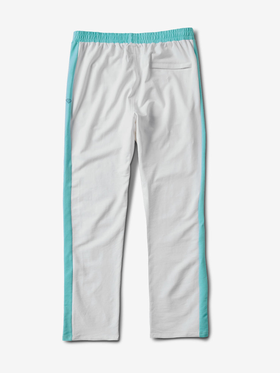 Cherry Warm Up Pants - White