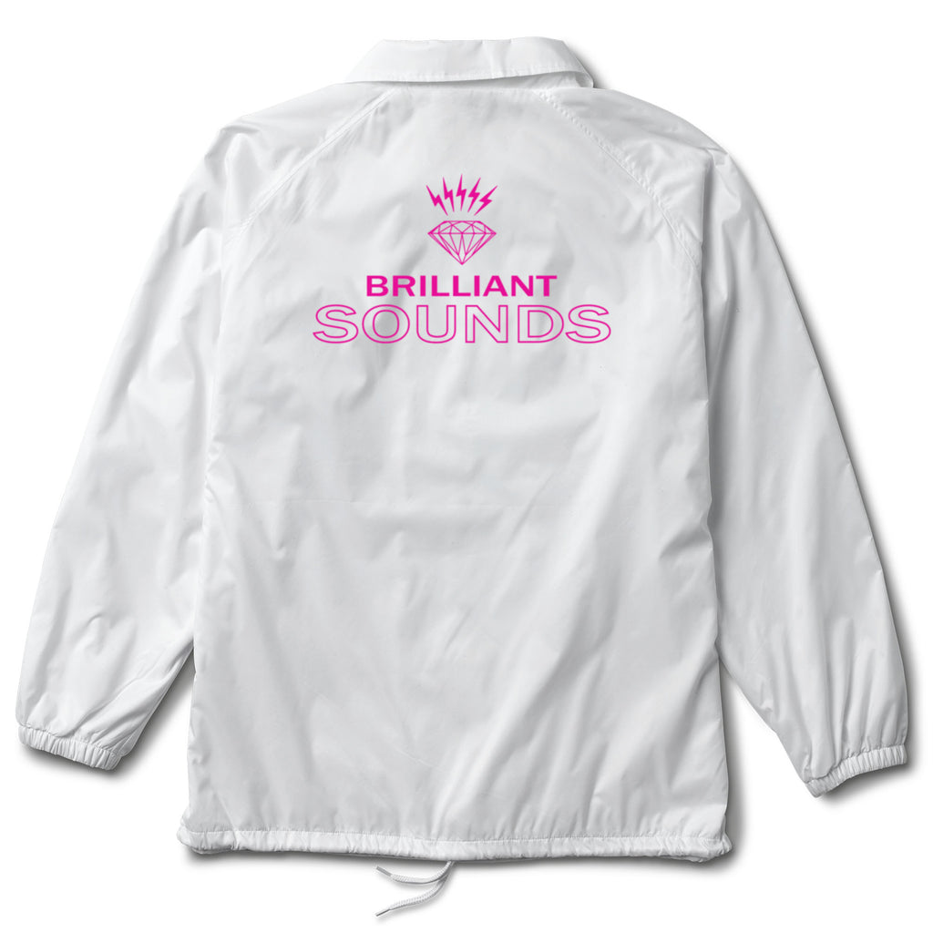 Diamond Records Coaches Jacket, Spring 2018 Delivery 1 Jackets Printable -  Diamond Supply Co.