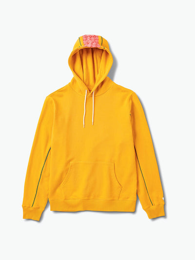 The Hundreds - Checkered Cross Hoodie - Yellow