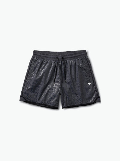 The Hundreds - Checkered Cross Shorts - Black