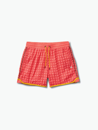 The Hundreds - Checkered Cross Shorts - Coral