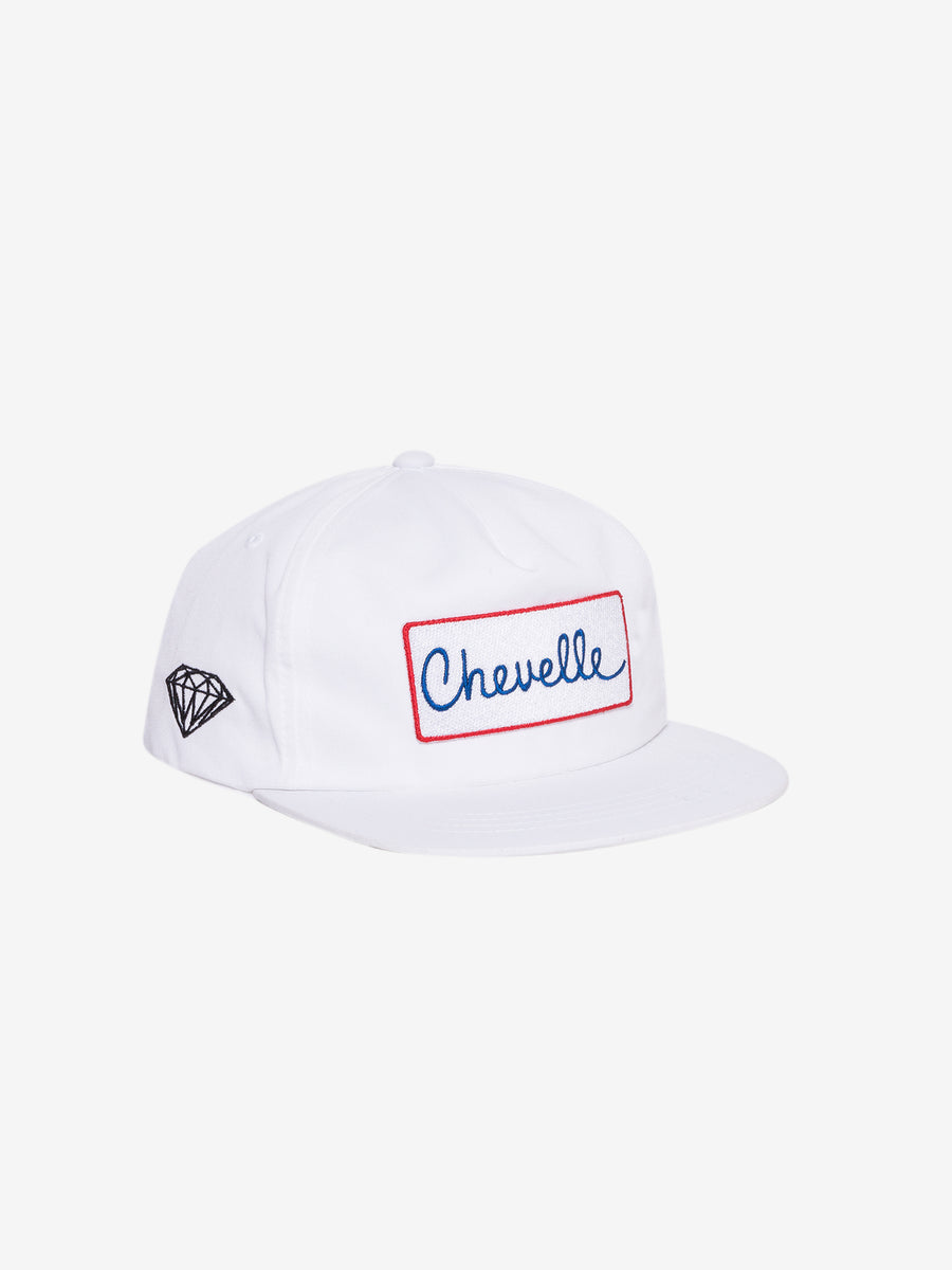 Diamond x Chevelle Super Sport Hat - White