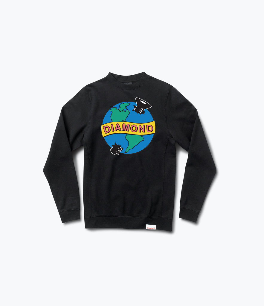 Pandemic Crewneck Sweatshirt, Holiday 2016 Delivery 2 Sweatshirts -  Diamond Supply Co.