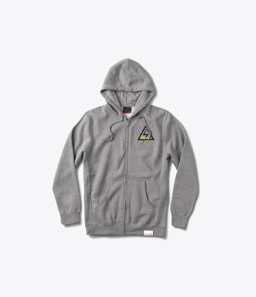 DMND Electric Zip Hood, Holiday 2016 Delivery 1 Sweatshirts -  Diamond Supply Co.