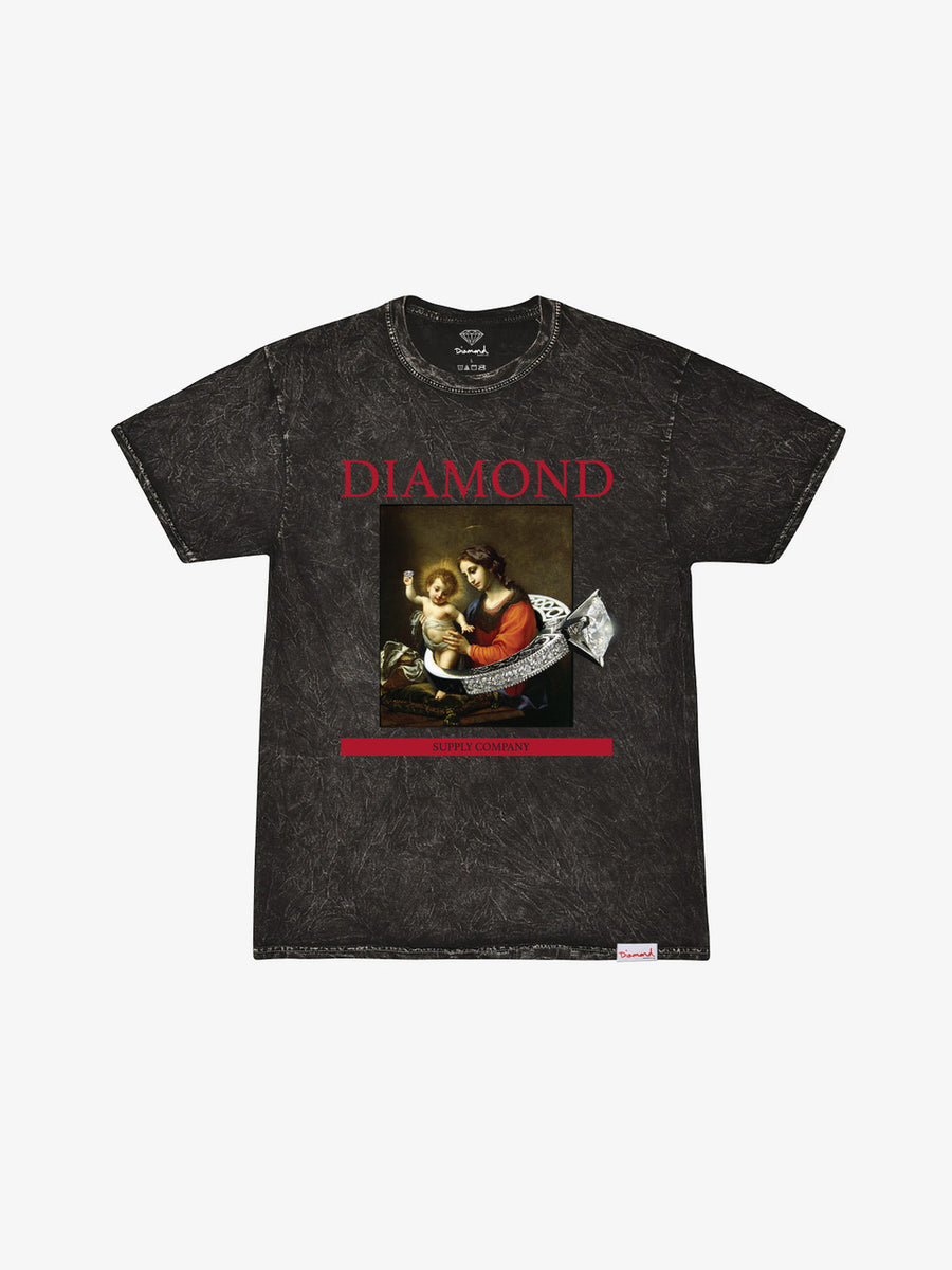 The Hundreds - 13th Century Mineral Wash Tee - Black