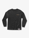 Gloss Long Sleeve Tee - Black