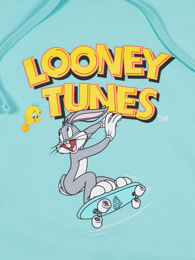 Diamond X Looney Tunes Hoodie - Diamond Blue