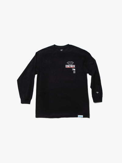Diamond X Dim Mak Long Sleeve Tee - Black