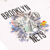Diamond x Space Jam Brooklyn Nets Tee - White