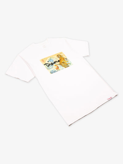 Tiger Wave Tee - White