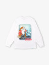Grumpy Long Sleeve Tee - White